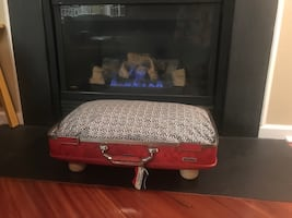 Custom made pet bed
