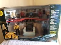 Classic Star Trek Bridge Collector Figure Set 1993 Playmates Number