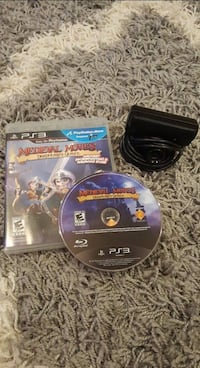 PS3 eye camera with Medieval Moves game Lake Forest, 92630