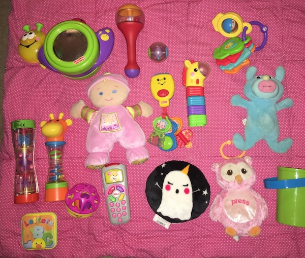 Miscellaneous baby toys (AS LOT)
