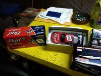 Action Collectables Nascar 1:24 scale Diecast cars like mint condition  null