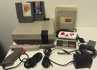 Nintendo NES Bundle with 3 Game Carts + Zapper Gun & 2 Controllers Montreal, H1R 1R1