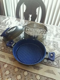 blue and black cooking pot Toronto, M1W 2S6
