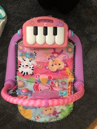 Fisher Price Kick 'n' Play Piano Gym- Pink Los Angeles, 90731