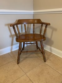 Wooden Club Chair