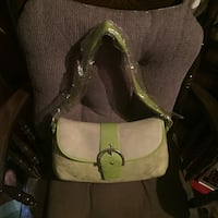 1f3fbcc2390 Used Green Suede handbag for sale in Dobbins Heights - letgo