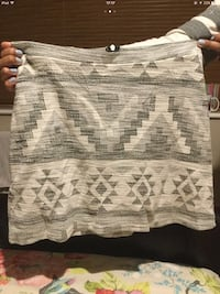 white, grey, and black tribal print a skirt Doncaster, DN4 7HH