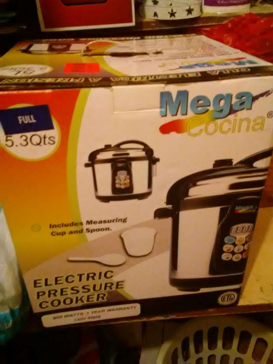 Used mega cocina electric pressure cooker box in St. Louis