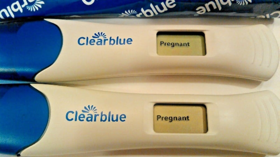 Used 2 Always Turns Positive Clearblue Digital Pregnancy Tests