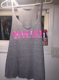 Grey Team Lily tank top  Victoria, V8R 1X5