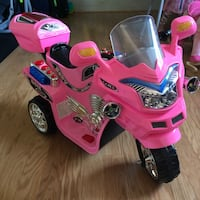 Toddler's pink ride on ATV/Motorcycle Rockville, 20853