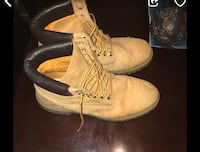 pair of brown Timberland work boots Upper Marlboro, 20772