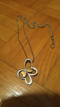 Butterfly Heart Necklace Mississauga, L5R 3C7