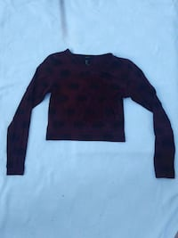 Forever 21 cropped elephant print long sleeve Alameda, 94502