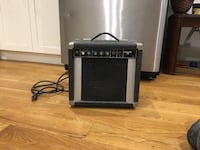 black and gray guitar amplifier 355 km