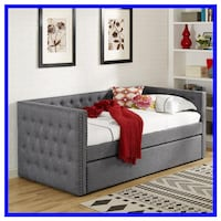 Gray Day Bed with Trundle Baltimore