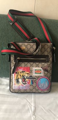 Black and red gucci leather crossbody bag Washington, 20024