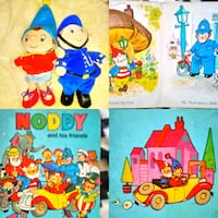 Noddy and his friends book collage Wakefield, WF2 8HL