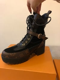 LV boots, size 9.5 Toronto, M9N 1T4