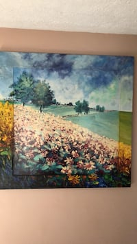 Land scape painting on canvas  Fairland, 46126