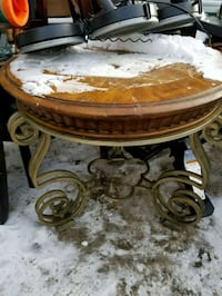 Tables (top needs to be refinished) $10 ea