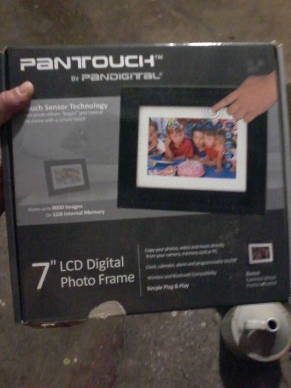 Used Panttouch By Pandigital 7 Lcd Digital Photo Frame For Sale In