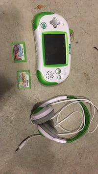 Leapfrog explorer with 2 games Bethesda, 20816