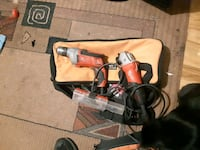 Milwaukee drill and angle grinder Edmonton, T5P 3M8