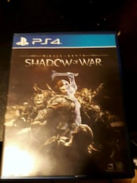 Sony PS4 Middle Earth Shadow Of War  Toronto, M1L 3B4