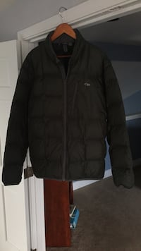 Outdoor Research down jacket, 800 fill, XL, dark green Tacoma, 98422
