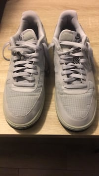 Pair of grey Air Force 1 basketball shoes District Heights, 20747