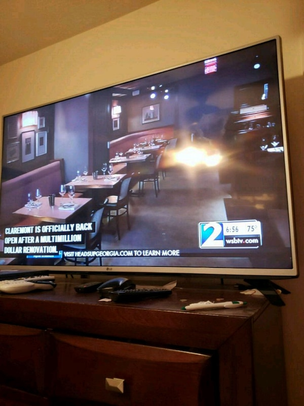 Used 50 inch lg flat screen tv for sale in Atlanta - letgo aa8df8ca48ef