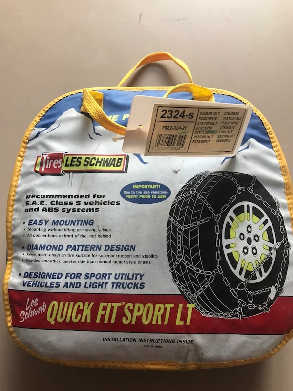 snow chains for trucks