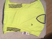 Adidas yellow and gray shirt Victoria, V8W