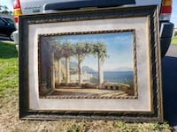 Print with solid frame Cape Coral