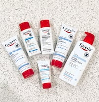 Eucerin hand and body lotions
