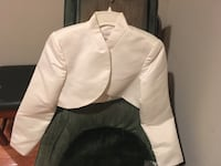 Ivory Wedding Bolero jacket Arlington, 22204