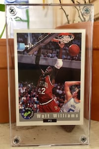 Walt Williams - 1992 Classic - Draft Picks Card - Mint - Maryland Washington, 20012
