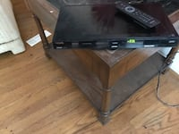 black and gray TV stand Silver Spring, 20903