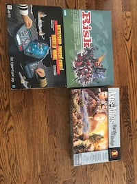 Board game. Risk and Battleship. Price per game! Perfect condition ! Dorval, H9P 1K6