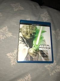 Star Wars 3 DVD/CD collection