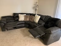 2pc sectional ( Ashley's Furniture Product ) 52 km