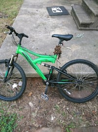 green and black full-suspension bike Greenville, 29611