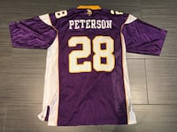 purple and white Peterson 28 jersey Toronto, M6A