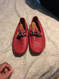 Red Gucci Driver Shoes Upper Marlboro, 20774