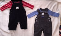 BOYS 0-3 months outfits GREAT FOR TWINS!  825 mi