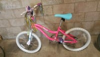 toddler's pink and white bicycle Los Angeles, 90029