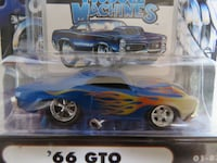 Muscle Machines Diecast '66 Pontiac GTOs Rarely Offered Guelph