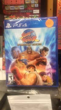street fighter   30 Anniversity collection New York, 10452
