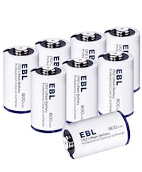 CR2 Lithium Photo Batteries 3V w/ PTC Protection for Flashlight Camera